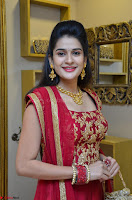 Jenny Honey in Stunning Dark Red Anarkali Dress at Splurge   Divalicious curtain raiser ~ Exclusive Celebrities Galleries 054.JPG