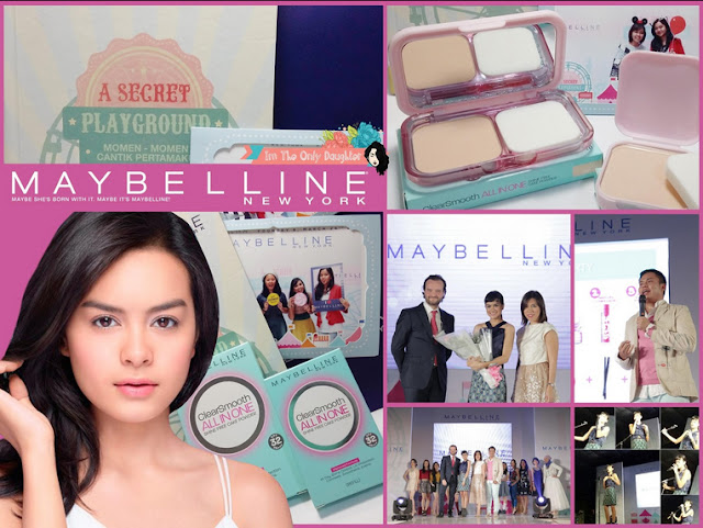 Maybelline Clear Smooth All in One Launching with Eva Celia