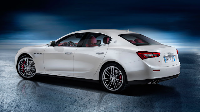 All-New Maserati Ghibli rear side