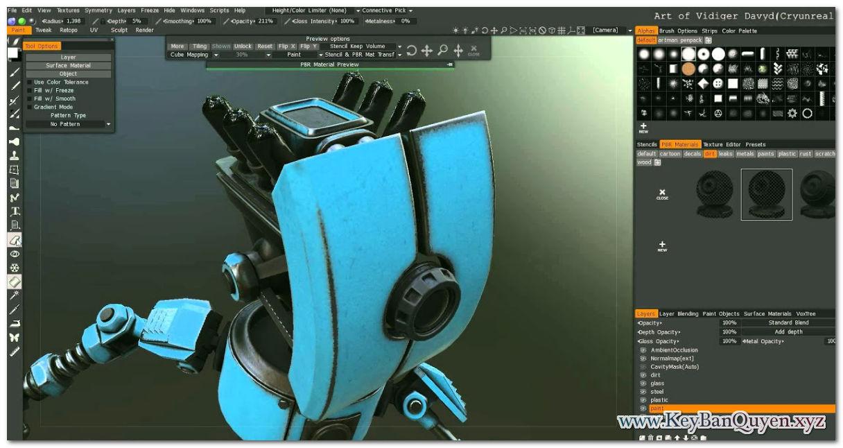 Download 3D Coat 4.8.33 Full Key, Phát triển phần mềm thực hiện ý tưởng 3D
