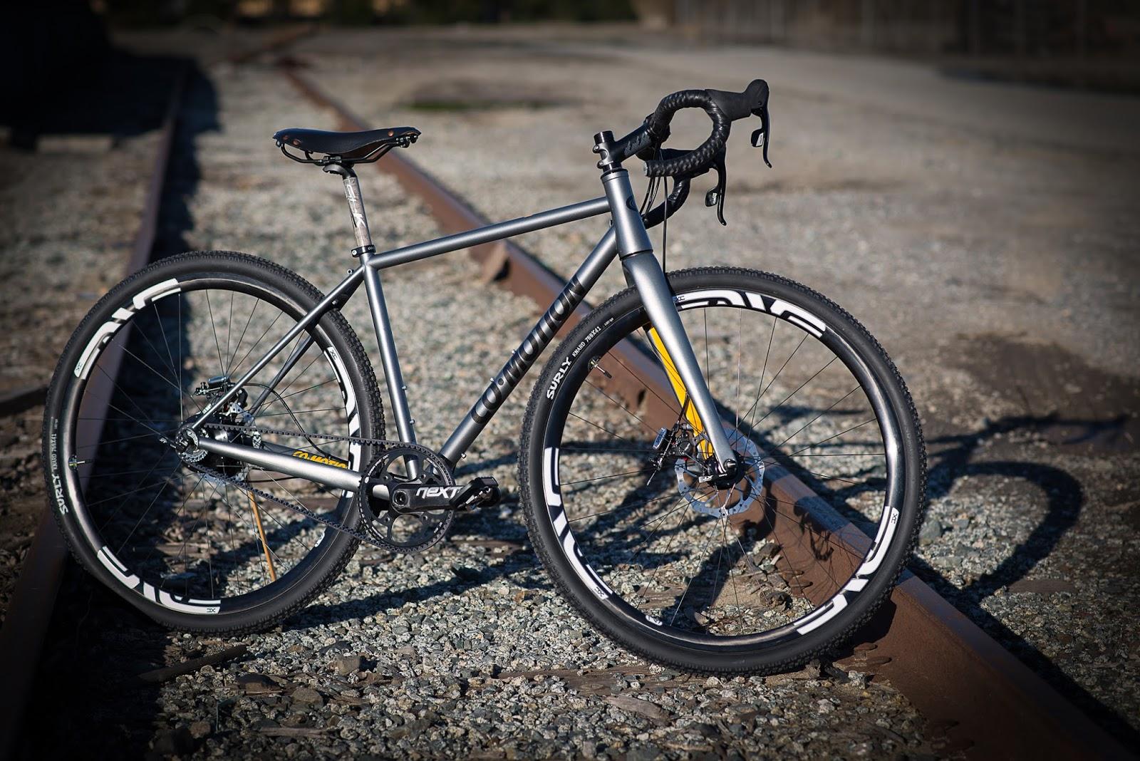 The Monkey Lab CoMotion Klatch  Adventure Road Bike
