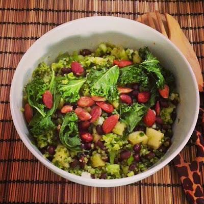 Ruokaisia salaatti
