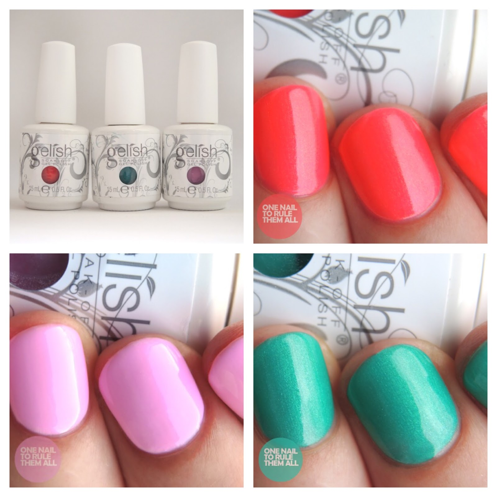... Them All: Gelish Street Beat Collection [Partial] Review + Swatches