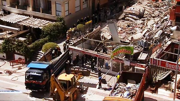Ya son 6 los muertos del desplome de Arona, Tenerife