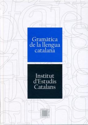 Gramàtica de la llengua catalana