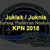 Petunjuk Pelaksanaan Karang Pamitran Nasional (Juklak Juknis KPN) Tahun 2018
