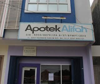 Lowongan Kerja Apotek Alifah Clinic