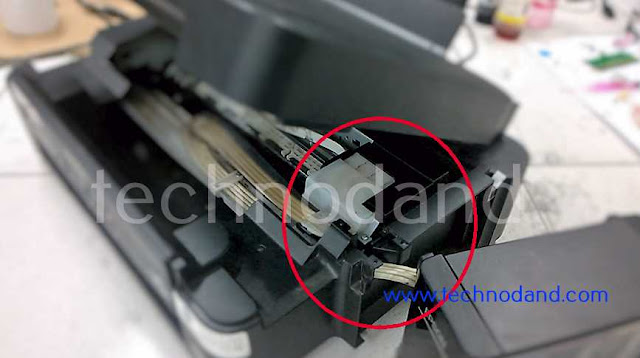 Cara reset Printer Epson L220 error