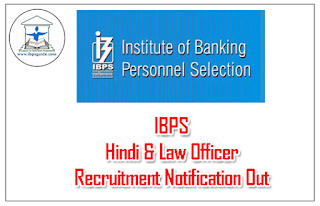 IBPS Research Officer & Other Posts Recruitment Notification Out – 2016