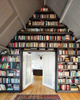 Desain perpustakaan di rumah