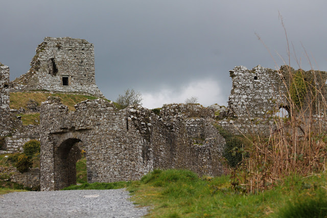Archway at Rock of Dunamase