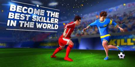 Download SkillTwins Football Game 2 V 1.0 Apk + Mod (Money/Skills/Unlocked) + Data for android