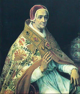 Pope Clement VII, a portrait by the 19th century French painter Henri Serrur