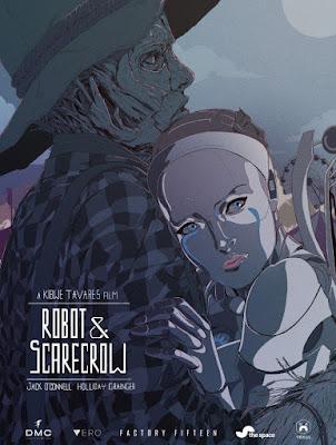 Robot & Scarecrow - Cortomentraje poster