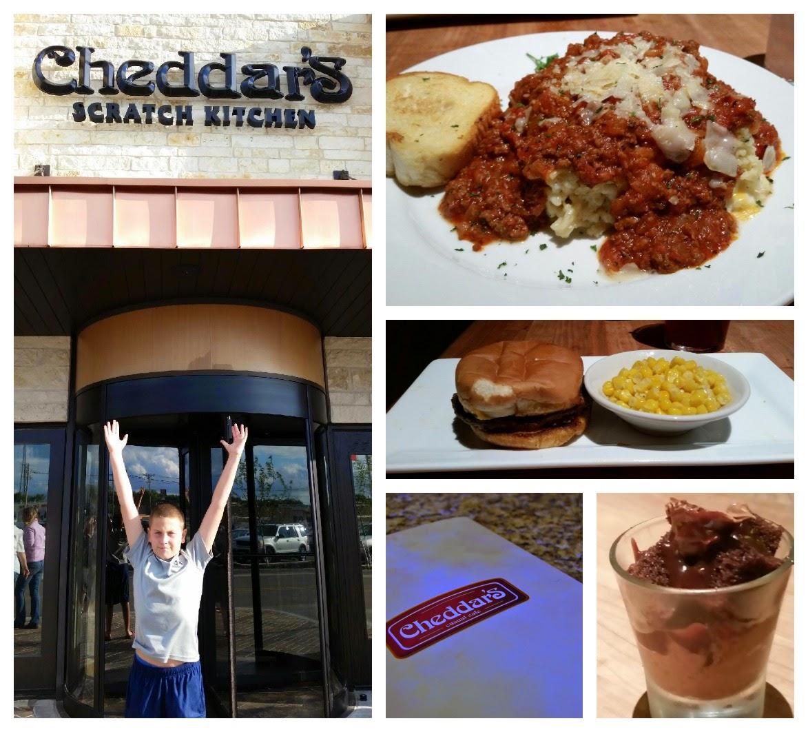 Restaurant Review Cheddars Scratch Kitchen  Cedar