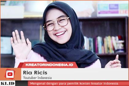 Profil Ria Ricis: Si Ratu Squishy