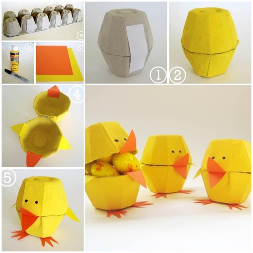 M s y m s manualidades ideas con cart n de huevo - Caja de huevo ...