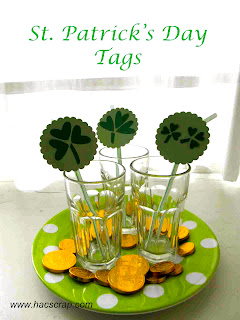 Quick and Easy Craft - St. Patrick's Day Tags
