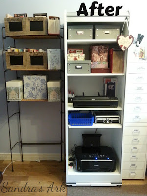 Organized Printer Unit by Sandra's Ark
