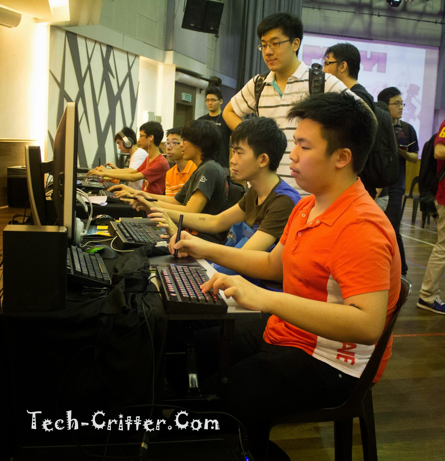 Coverage of PLAY! Convention @ KDU College 213