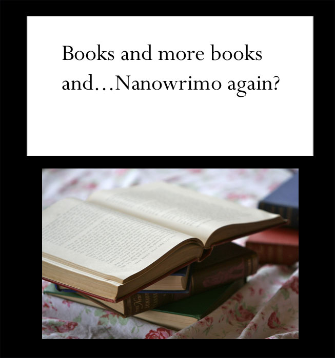 books and more books, Juli D. Revezzo's blog, authorblog
