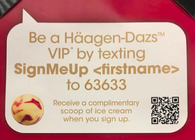 Free Haagen Dazs Ice Cream Scoop VIP Program
