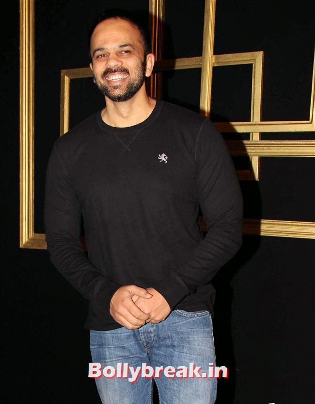 Rohit Shetty, All Bollywood Celebs at Deepika Padukone Golden Party