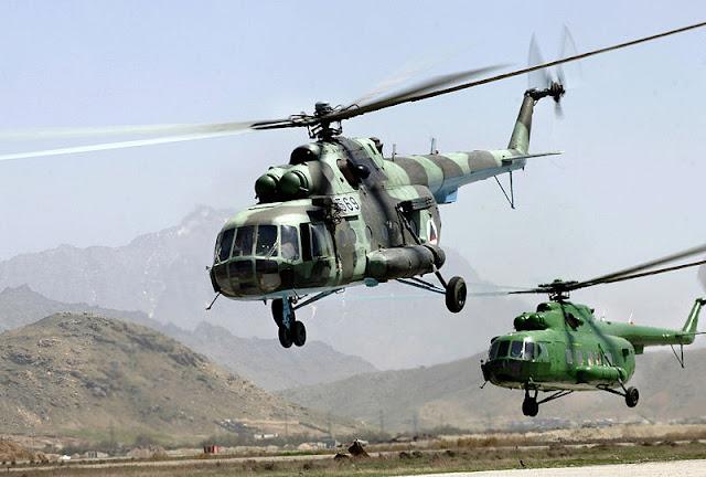 Gambar 55. Foto Helikopter Angkut Militer Mil Mi-17