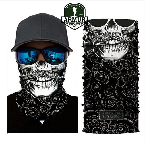 Bandama Cagula Multifunctional Esarfa atv moto snowboard ski Skull Craniu Rock Punk