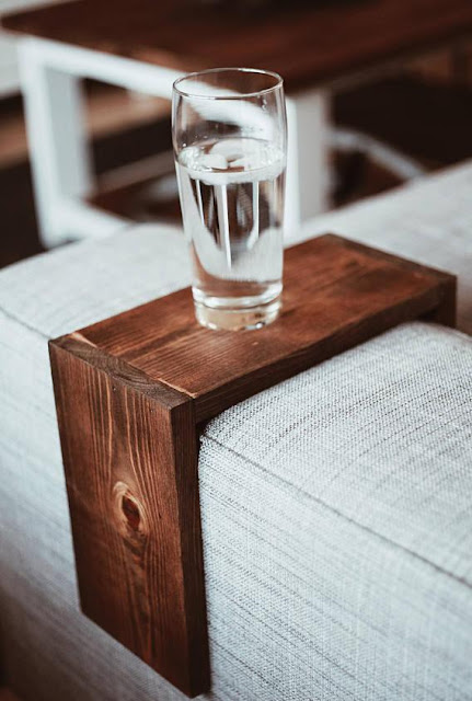 Couch Armrest Table