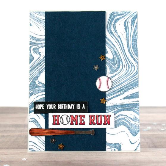 Sunny Studio Stamps: Team Player Customer Card Share by Lisa Lahiff
