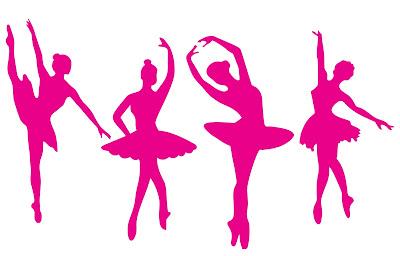 Bailarina vetororizada Corel draw Silhpouette Studio