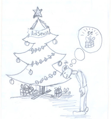 AdSense Holiday Caricature