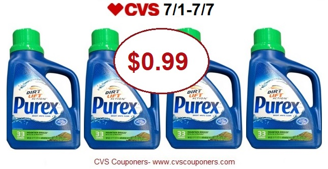http://www.cvscouponers.com/2018/07/hot-purex-laundry-detergent-only-099-at.html