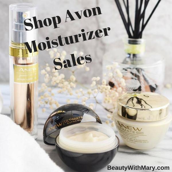 Shop Avon Moisturizer Sales Campaign 8 2017
