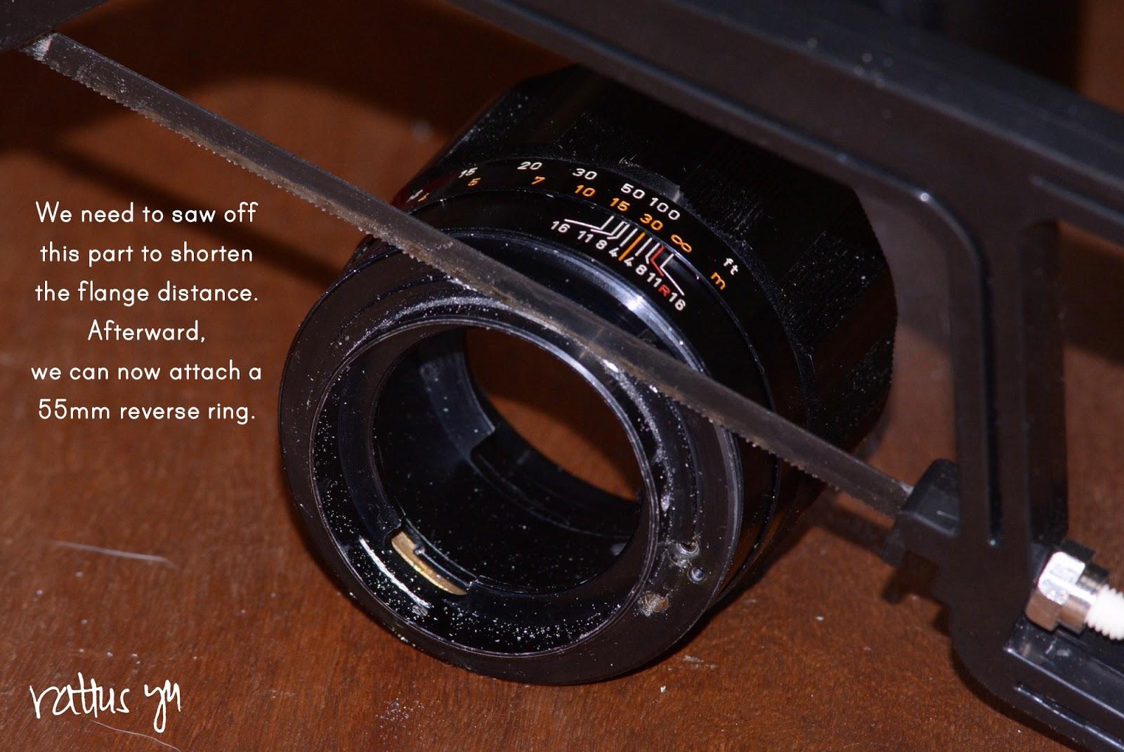 Canon FL 135mm f/2.5, Convert to Nikon F Mount