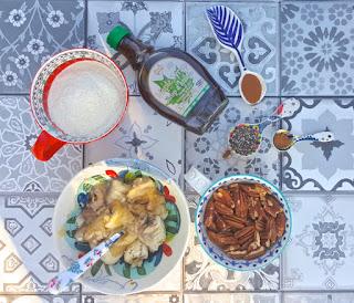 Receta: budín de banana especiado sin gluten y sin azúcar