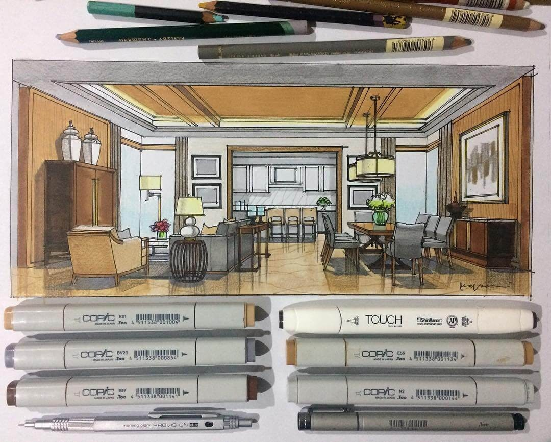 13-Mixed-media-Yandi-Prayudhi-Interior-Design-and-Travel-Drawings-www-designstack-co