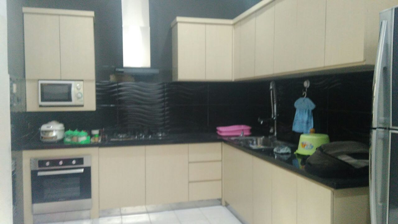 jual kitchen set surabaya sidoarjo custom