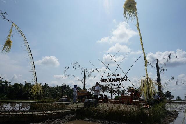 Peluncuran Banyuwangi Festival 2017 di Desa Banjar.