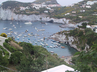 Ponza has some beautiful coastline and was once a haunt for movie stars and other celebrities