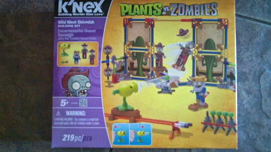 K'nex Plants vs Zombies #Giveaway Ends June 19!