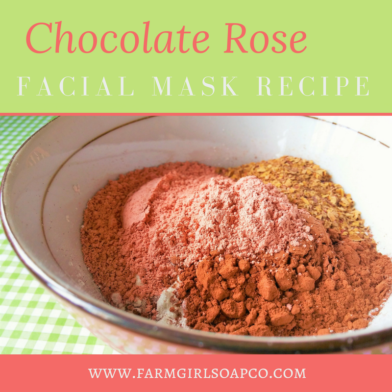 Chocolate rose mask recipe i thought this was perfect for valentines day chocolate rose facial mask you can definitely just craft it for yourself but wouldnt it be the most solutioingenieria Gallery