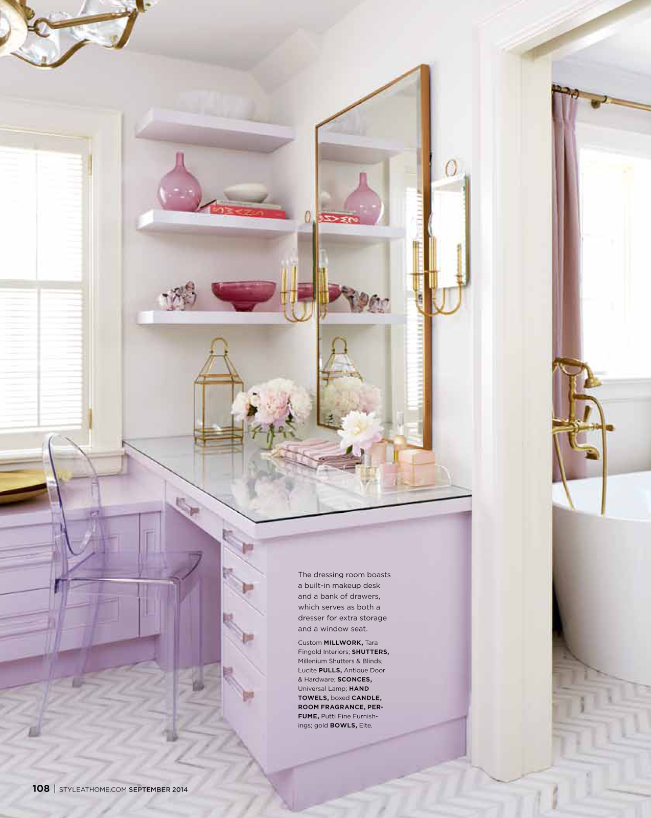 I Was Inspired To Create A Little Lilac And Gold Moodboard That Captures The Quiet Luxury Of This Look