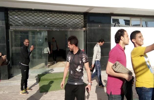 بالصور اول تدريب لإناسيو مع الفريق الأول لكرة القدم