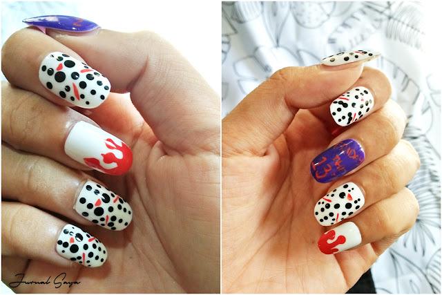 2d fake nail art