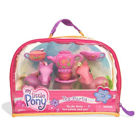 MLP Spring Fever Accessory Playsets Tea Party G3 Pony