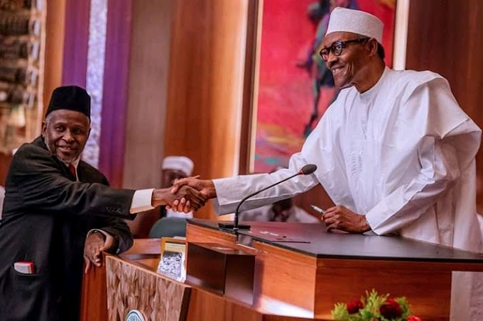 See photos of the swearing in ceremony of the new acting CJN Ibrahim