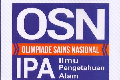Buku Olimpiade Sains Nasional (OSN) Untuk Tingkat SD Sederajat