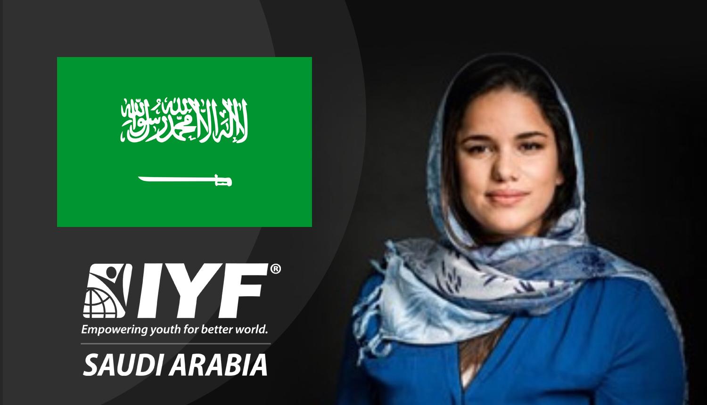 Souhoud Al Sharif, IYF Representative in Saudi Arabia